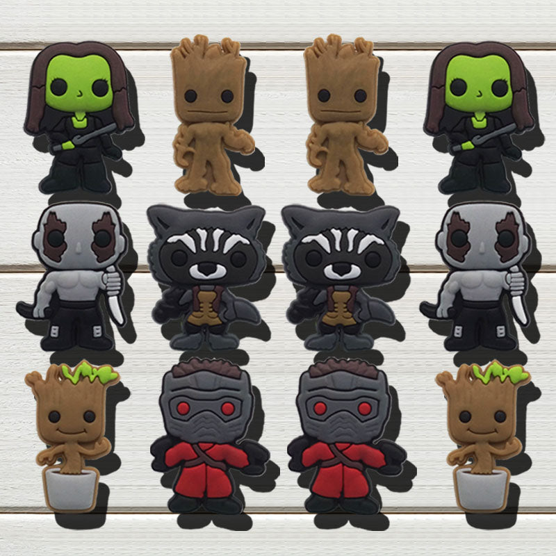 Guardians of the Galaxy Shoe Charms