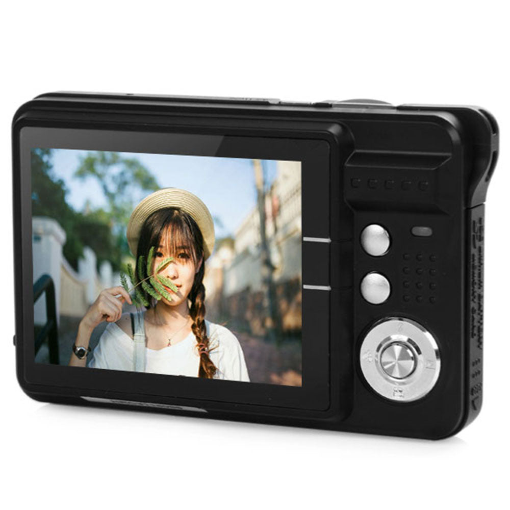 Amkov CDC3 2.7 Inch Digital Camera TFT HD Screen 18.0MP CMOS 3.0MP Anti-shake 1080P Digital Video Camera with 8X Digital Zoom