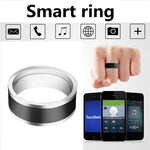 NFC Smart Ring Black Titanium Steel Two-chip Mobile Phone Unlock Waterproof Touch Unlock Health Protection Rings