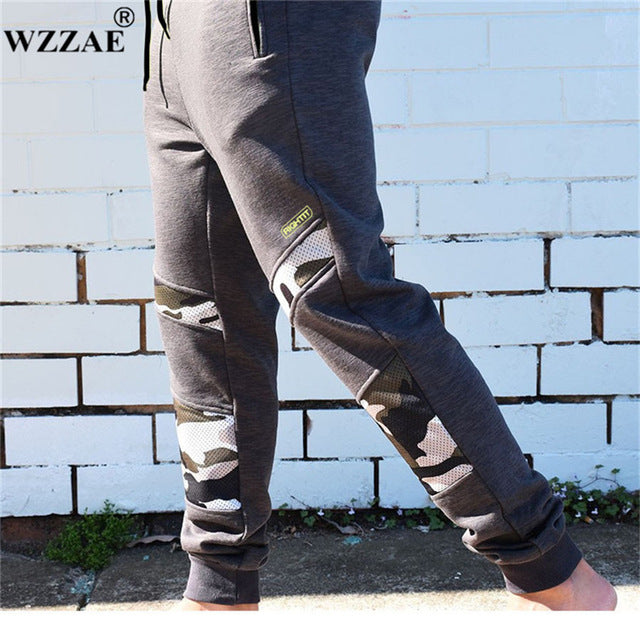 Camouflage   Sweatpant   Fitness   Male   Pant   Men   New