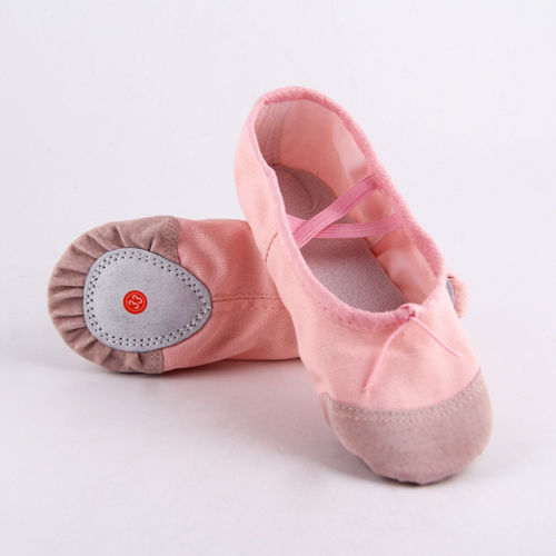 Children Ballet Dance Shoes Slippers Kids Girls Canvas Dance Shoes Spring Autumn Summer Girl Cute Casual Shoes 22-30