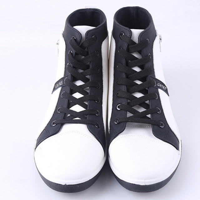 Casual Men Boots PU Leather Lace-Up Fashion Men Retro Boots Shoes Tooling Boots Autumn Warm Ankle Boot Botas OR914654