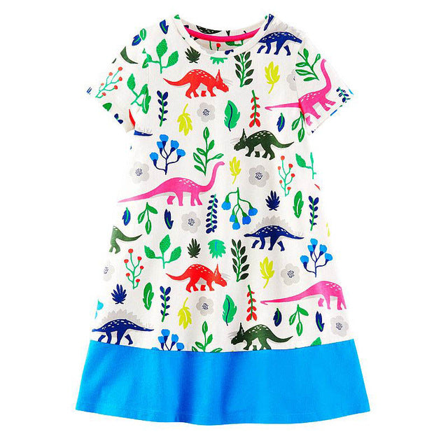 Baby Girls Dress Summer Unicorn Costume for Kids Clothing Brand Children Party Dresses Animal Girls Clothes Princess Dress
