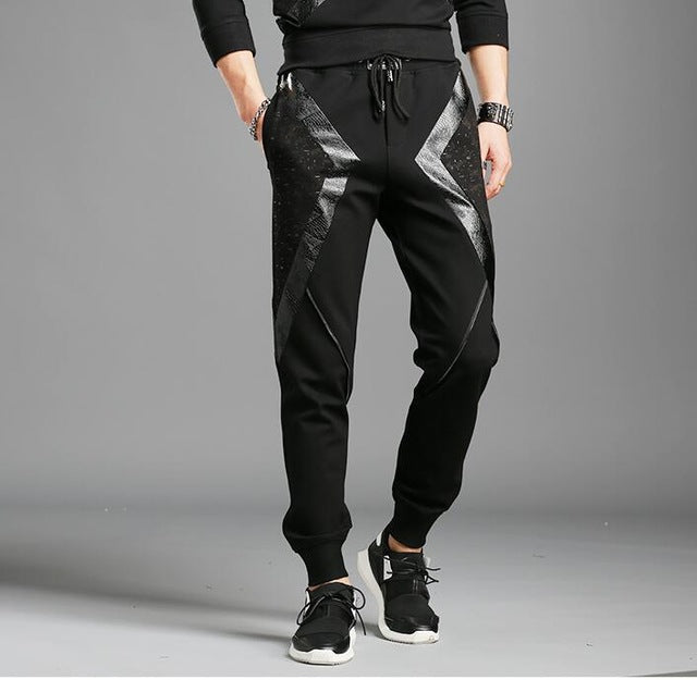 new autumn trousers and winter fashion casual fashion slim foot pants fashion K829