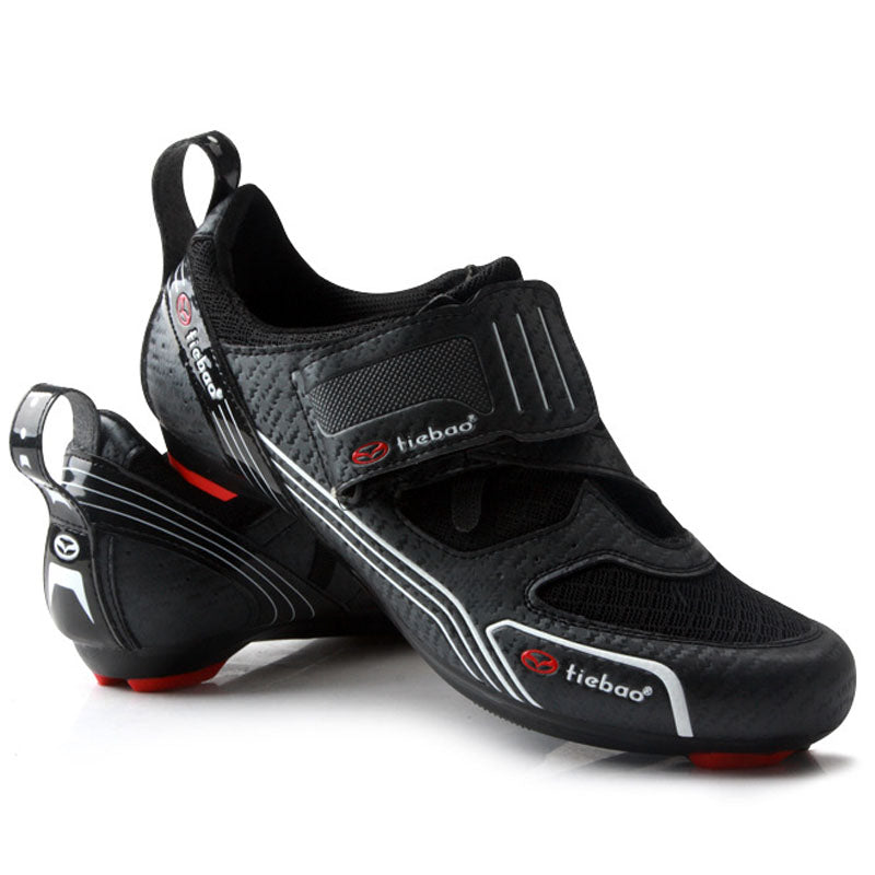TIEBAO Cycling Shoes Road Bike Shoes Professional Riding Team Self-Locking Bike Road Riding Equipment Cycling Shoes