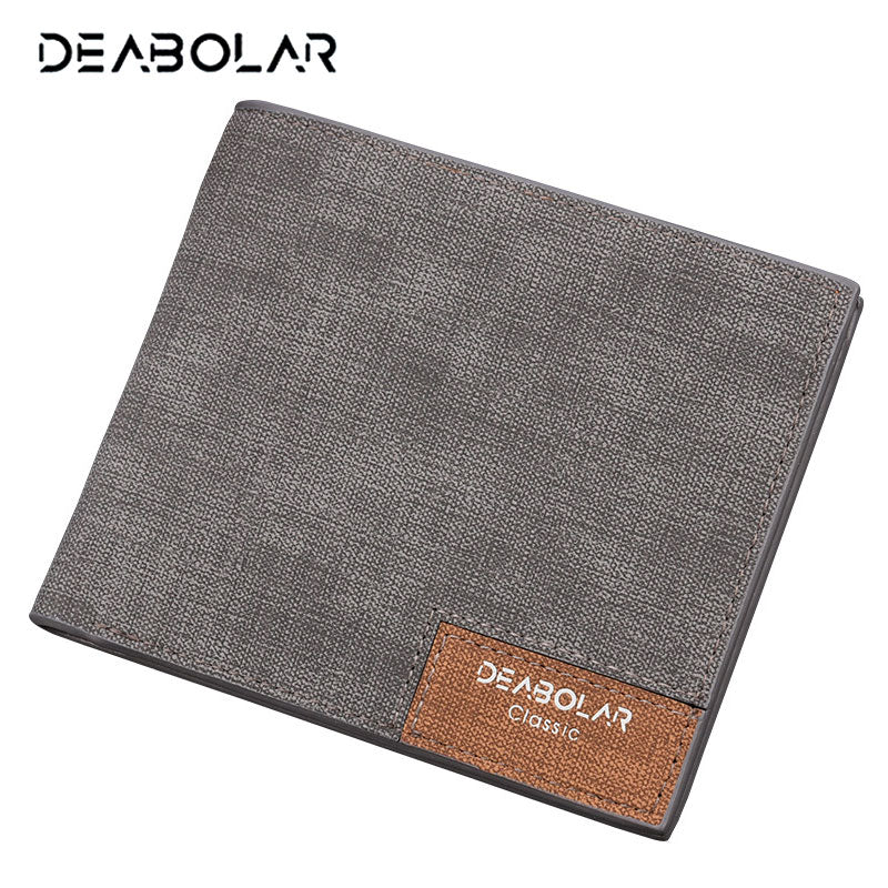 Vintage Man Wallet Male Slim Top Quality Leather Wallets Thin Money Dollar Card Holder Purses for Men