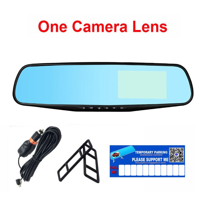 Full HD 1080P Camera Rear View Mirror Dashcam with DVR