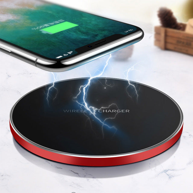 Universal Qi Wireless Desktop Charger for Smart Devices
