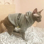 Security Cat Clothes Fashion Cat Coat Jacket Hoodie For Small Cats Outfit Vest Pet Clothing Rabbit Animals Pet Costume 12b30S3Q