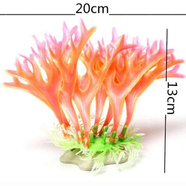 fish aquarium decorations Nontoxic Decorative Artificial Weeds water ornament plant Fish Tank aquarium plants grass accessories