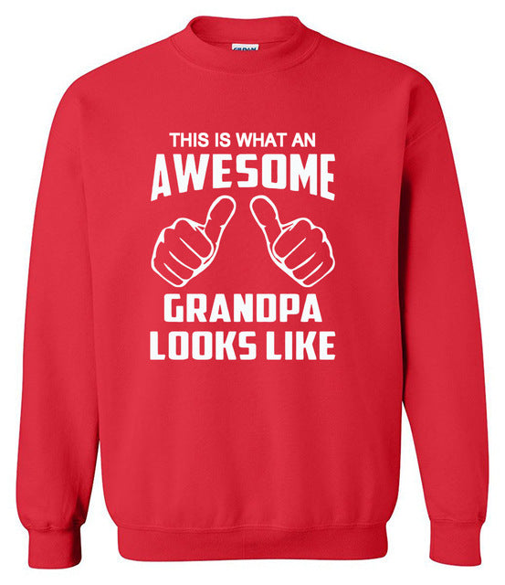 Sweatshirt men's sportswear This Is What An Awesome Grandpa Looks Like print hoody Crossfit hoodie mass effect tracksuits