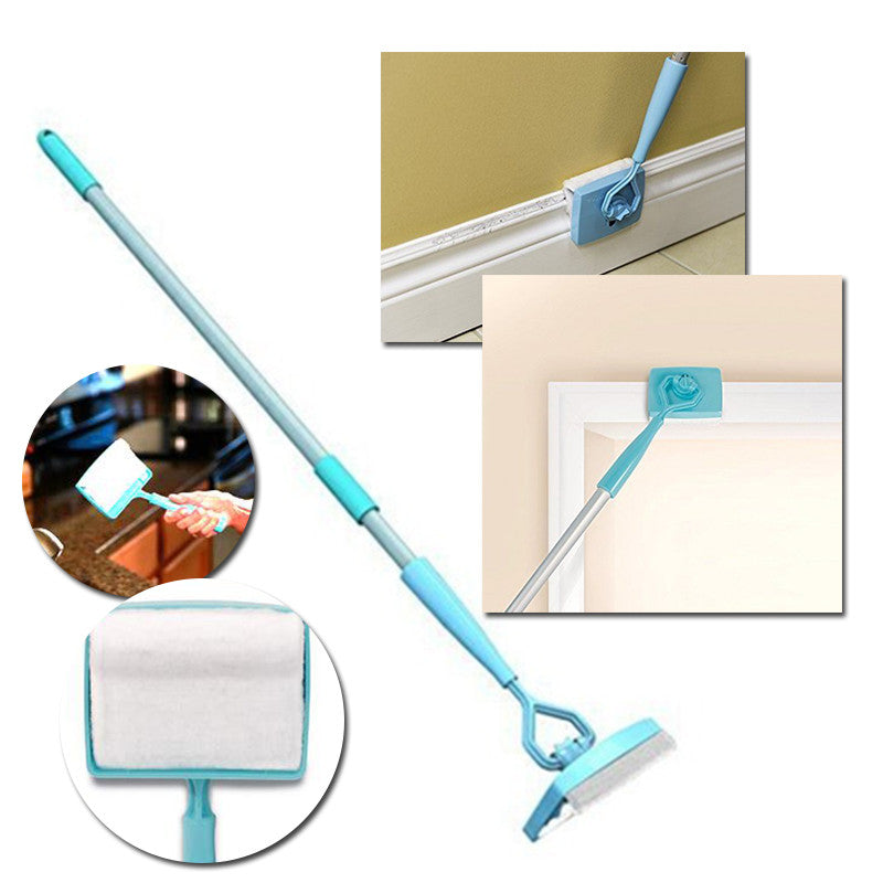 Baseboard Buddy - Extendable Microfiber Cleaning Brush