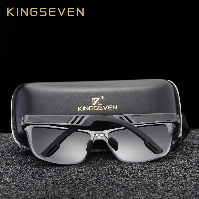 Original HD Polarized Sunglasses Aluminum Magnesium Mirror Mens Sport Driving Sunglasses