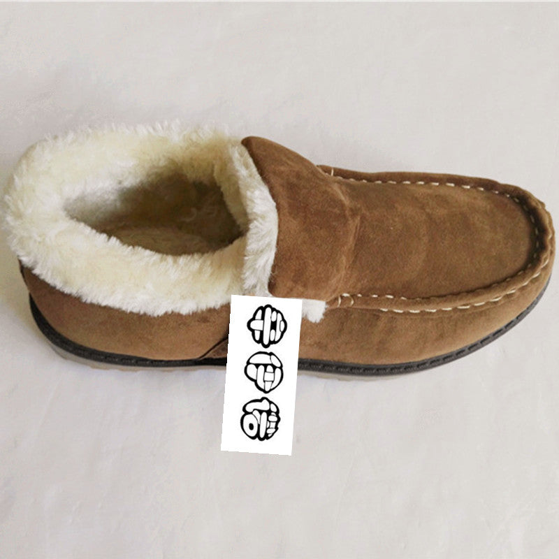 Super Warm Winter Boots Men Snow Boots With Fur Keep Warm Platform Men Winter Snow Shoes Outdoor Ankle boots