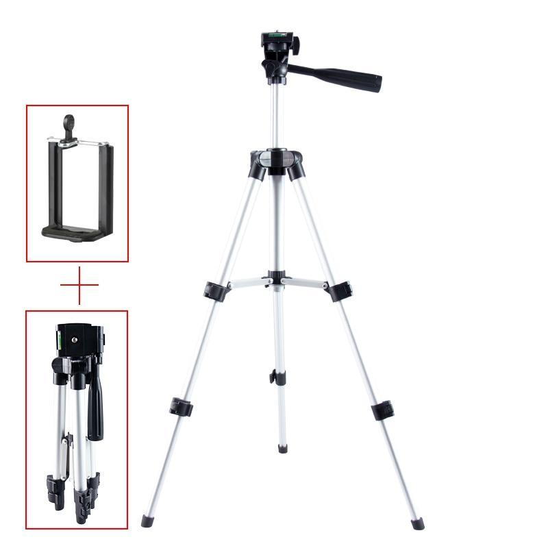Portable Adjustable Height Smartphone Tripod
