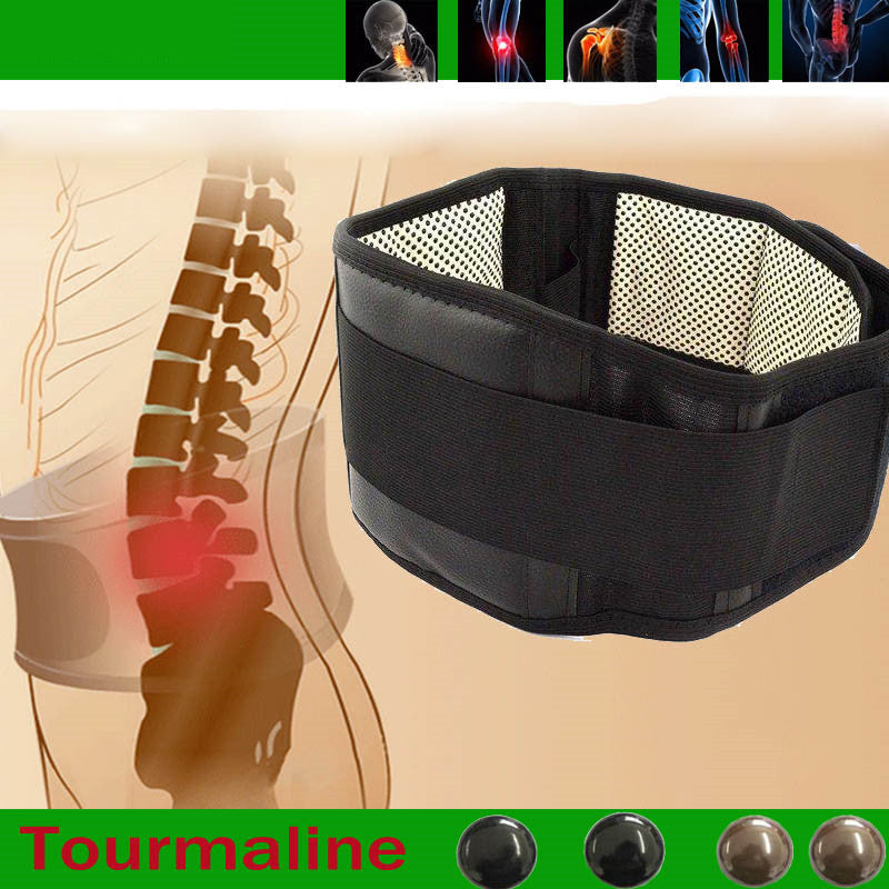 Active Adjustable Self-Heating Therapy Lower Back Waist Support Belt
