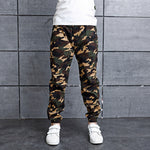 Spring and Winter Warm Boys pants for 100-160cm Boys Camouflage Children Pants Cotton Boy trousers Kids Sweatpants 2 Kinds Pants