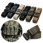VESSOS Military Tactical Belts Mens Army Combat Nylon Belts Adjust Emergency Survival Waist Belt Tactical Training Gear