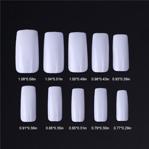 Nail Tips Color Card Nail Art Practice Display Tools Clear White Buckle Ring Manicure Color Card for Nail Polish Gel Poly Gel