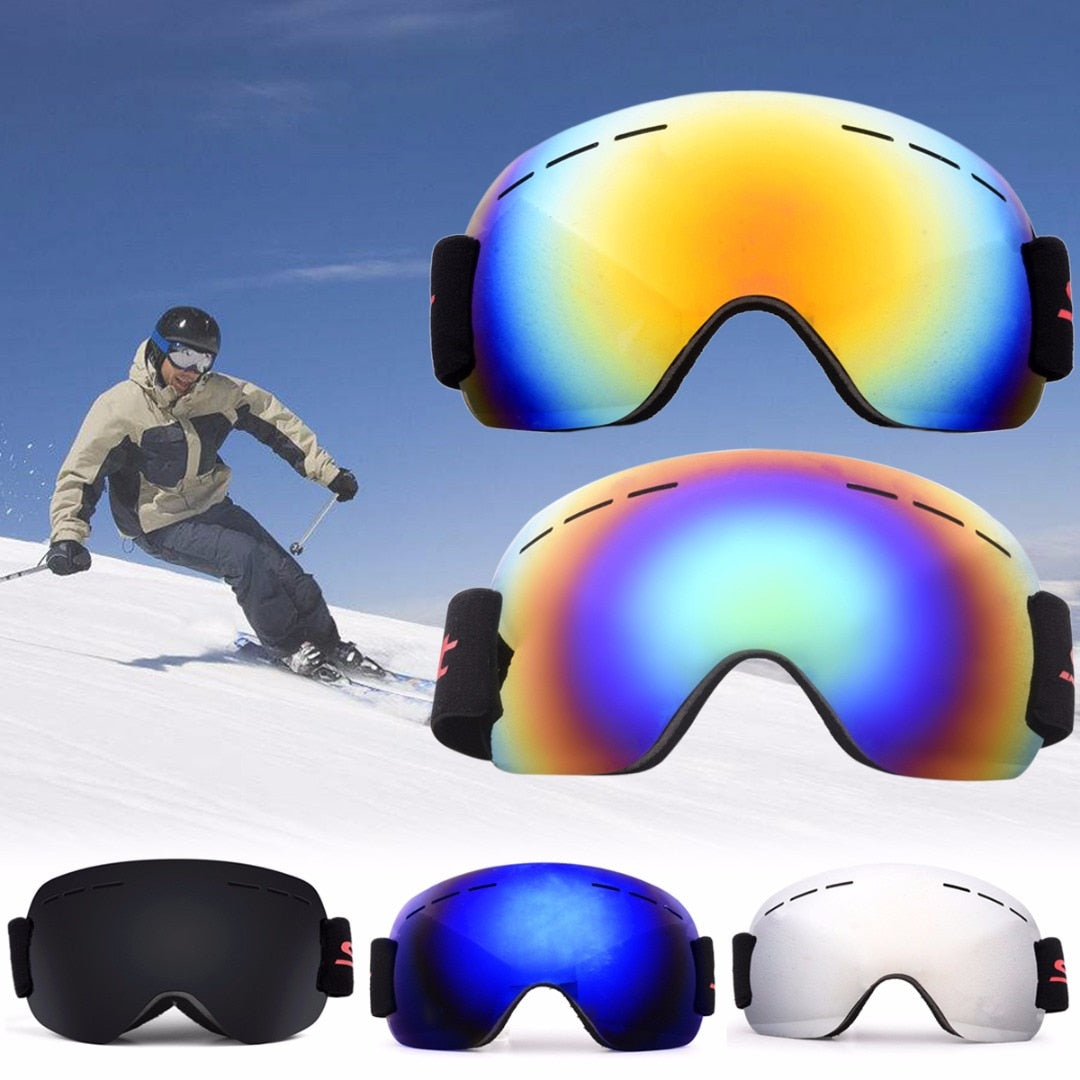 Double Lens Anti-Fog UV Winter Sport Goggles Was: $64.99 Now: $19.99 Plus Free Shipping.
