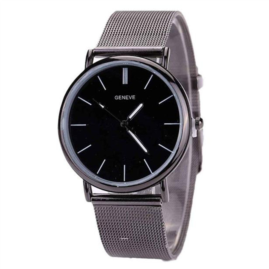 Men's Stainless Steel Fashion Analog Quartz Watch