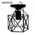 Modern Led Birdcage Retro Loft Ceiling Lamp