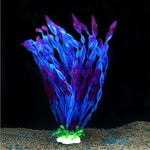 Multicolor Fish Tank Seaweed Ocean Scene Artificial Water Fish Tank Ornament Grass Aquarium Plants Aquarium Decoration