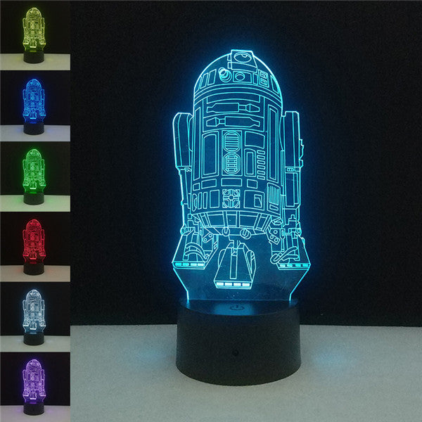 LED 3D Character Night Lights