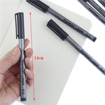 Waterproof Pigment Liner Fine Point Water Based Brush Markers