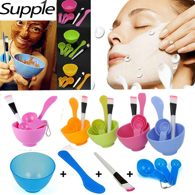 4 in 1 Homemade Makeup Beauty Tools Kit Accessories