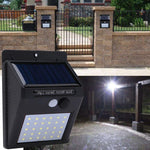 Multi-Pack Solar Powered Waterproof LED Motion Sensor Garden Path Lights
