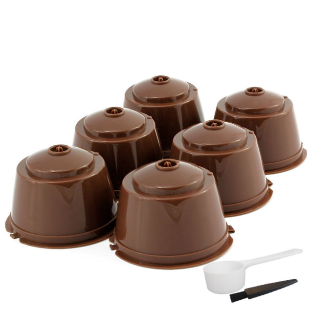 3pcs/pack  Refillable Dolce Gusto coffee Capsule Nescafe Dolce Gusto Reusable Capsule Dolce Gusto Capsules