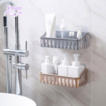Wall Mounted Bathroom Accessory Shelf
