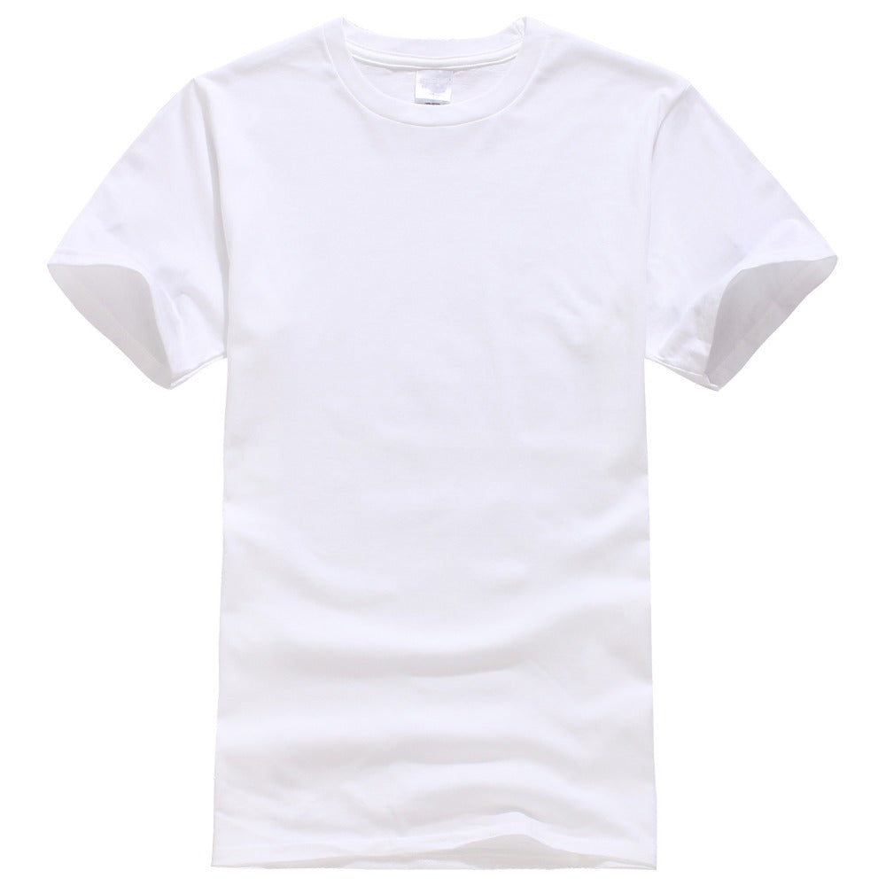 New Solid color T Shirt Mens Black And White 100% cotton T-shirts Summer Skateboard Tee Boy Skate Tshirt Tops