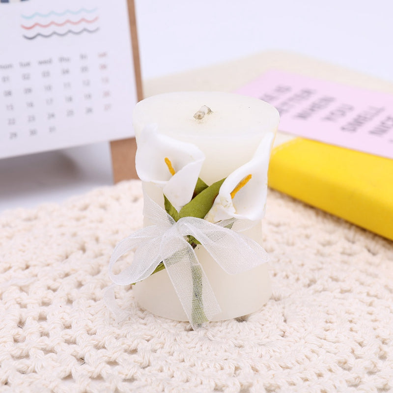 Lily Flower Style Wedding Candle art Candles wedding gift Christmas gift lovers' gift home decoration