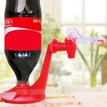 Upside Down Soda Bottle Dispense Machine