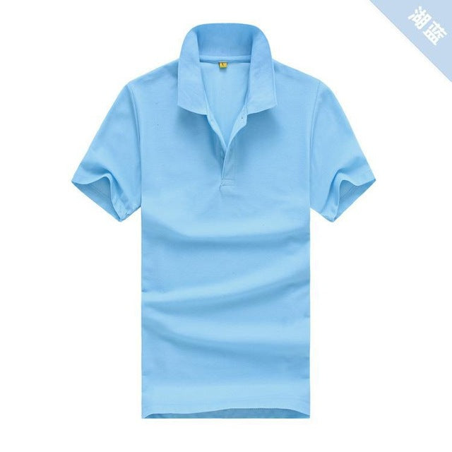 Summer | Sleeve | Cloth | Solid | Short | Color | Shirt | Women | Polo | Men | Top