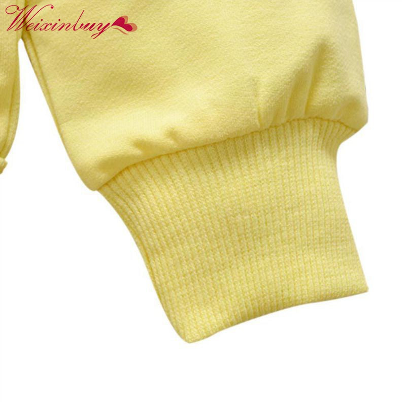 Spring Autumn Baby Toddler Kids Girls Baby Sweatshirts Cotton Long Sleeves Winter Low Baby Clothing 0-24M