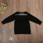 Pudcoco Winter Unicorn Sweatshirt Kids Hoodies Outerwear Clothes For Children Infant Warm Girl Hoodies Sweatshirts Clothing 1-5T