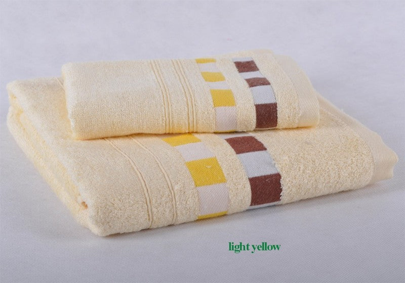 Beroyal Brand 2pcs/set bamboo towel set (1PC bath towel 70*140cm+1PC hand towel 34*75cm) Frozen towels bathroom MMY Brand