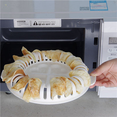 Microwave DIY Healthy Potato Chips Maker