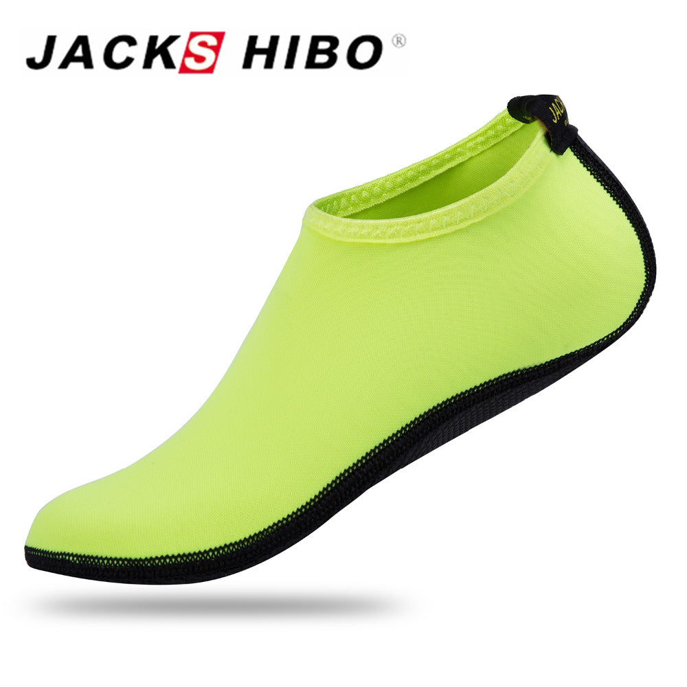 JACKSHIBO Spring Kids Water Socks Outdoor Kids Slip-on Beach Shoes for Girl Boys Summer Sandals Swimming Shoes Sports Wetsuit