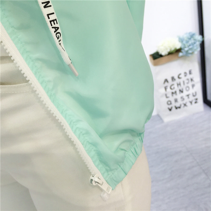 Women's Summer/Spring Hooded Jacket