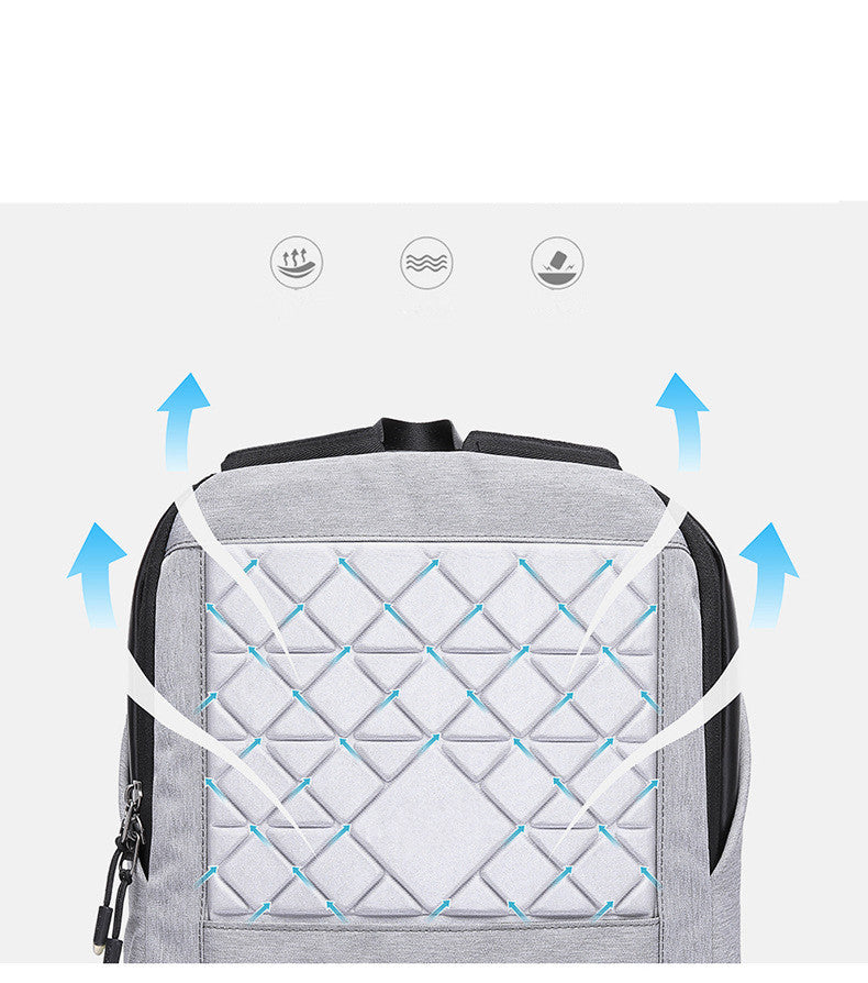 Anti-Theft Waterproof USB Charging Travel Backpack