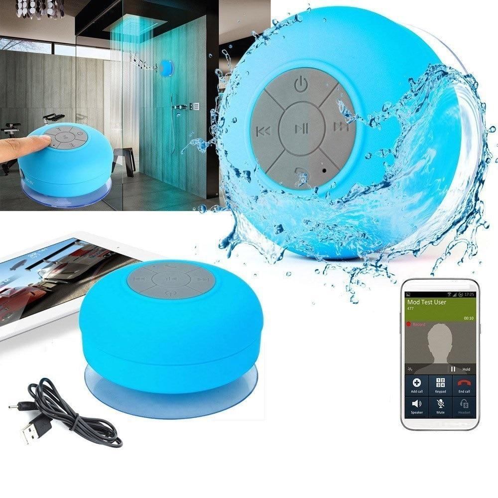 Mini Portable Waterproof Bluetooth Shower Speaker