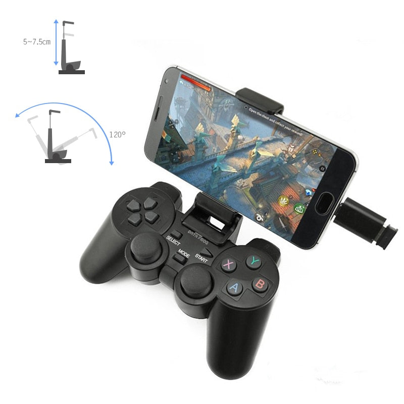 Wireless Gamepad Joystick Gaming Controller (Micro and Type-C USB Wireless Connector) Was: $88.99 Now: $23.99 and Free Shipping.
