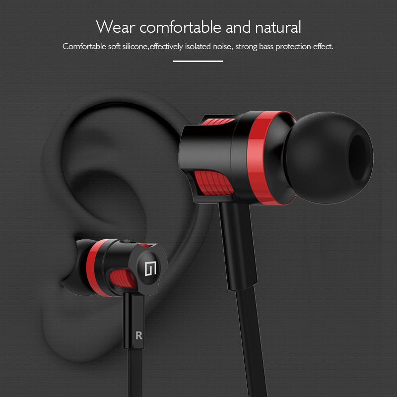 HiFi Bass 3.5mm Wired Sport Headphones