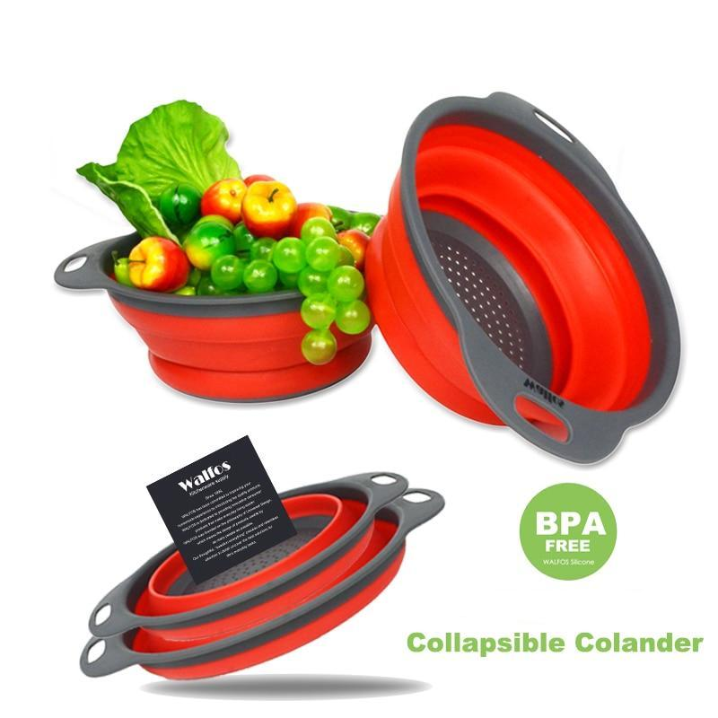 2 Piece: Collapsible Silicon Kitchen Strainer / Washing Basket Was: $75.99 Now: $20.00 and Free Shipping.