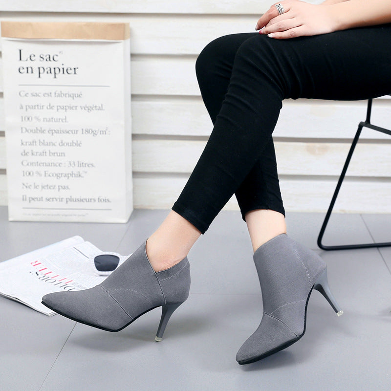 Pointed Toe High Heels Women Pumps Shoes Basic Spring Casual Ladies Shoes Women Heels Female Fashion Footwear Pumps Shoes ADT609