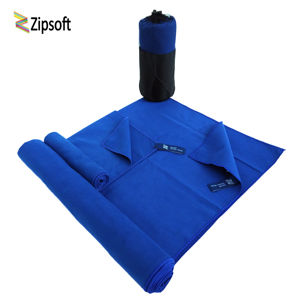 2 Piece: Microfiber Quick Dry Sports Gym Towels